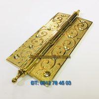 Nơi bán Bản lề đồng mạ PVD 321 phong cách cổ điển