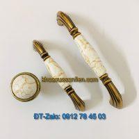 Báo giá nơi bán mẫu Bộ tay nắm tủ mặt sứ tân cổ điển mang phong cách Ý 008 giá rẻ tại Hà Nội