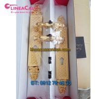 Nơi bán Khóa cửa chính cổ điển mạ vàng 24K Soleil 1325-PL của LineaCali Italy tại Hà Nội