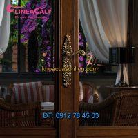 Nơi bán Khóa cửa chính tay gạt cổ điển Barocco 1520-PL của Linea Calì