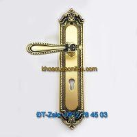 Báo giá nơi bán mẫu Khóa đồng tay gạt thông phòng tân cổ điển cho cửa gỗ K-006-TP giá rẻ tại Hà Nội