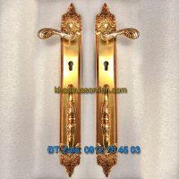 Báo giá mẫu Khóa đồng đại sảnh tân cổ điển cho cửa gỗ K-003-DS giá rẻ tại Hà Nội