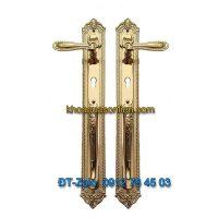 Báo giá nơi bán mẫu Khóa đồng đại sảnh tay gạt tân cổ điển cho cửa gỗ K-006-DS giá rẻ tại Hà Nội