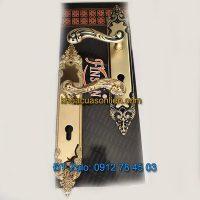 Báo giá nơi bán mẫu Khóa đồng thông phòng tân cổ điển K-004-TP dùng cho cửa gỗ giá rẻ tại Hà Nội