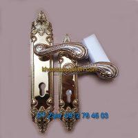 Báo giá nơi bán mẫu Khóa đồng thông phòng tân cổ điển dùng cho cửa gỗ K-003-TP giá rẻ tại Hà Nội