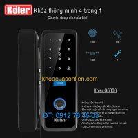 Nơi bán Khóa thông minh vân tay chuyên dùng cho cửa kính 4 in 1 Koler G6000 giá rẻ tại Hà Nội
