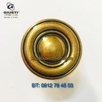 Báo giá nơi bán mẫu Núm tủ tròn tân cổ điển WPO811.031.00A8 31mm của Giusti nhập khẩu Italy giá rẻ tại Hà Nội