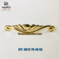 Báo giá Tay nắm tủ tân cổ điển mạ vàng 24K Placcato Oro của hãng Giusti - Italy
