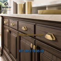 Nơi bán Tay nắm tủ kiểu dáng hiện đại 832 series Giusti nhập khẩu Italy xịn tại Hà Nội