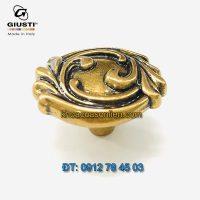 Nơi bán Tay nắm tủ tân cổ điển đẹp WP0837.000.00A8 37mm Giusti - Italy nhập khẩu chính hãng tại Hà Nội